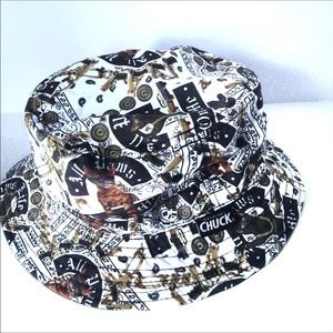 NWOT Original CHUCK Loony Bucket Hat O/S sold-out